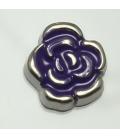 Charm bloem paars