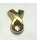 Charm ribbon goud