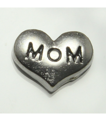 Charm hart 'mom'