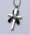 Memòría As-hanger kruis met ribbon