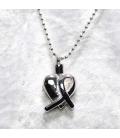 Memòría As-hanger hart ribbon