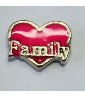 Charm Family (roze)