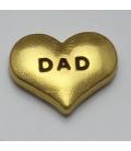 Charm DAD goud