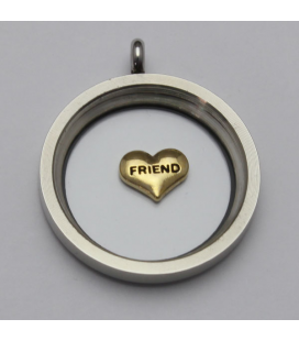 Charm friend (goud)